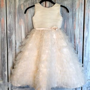 Joan Calabrese for Mon Cheri Flower Girl Dress